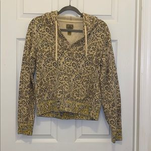 Lucky Brand cropped hoodie